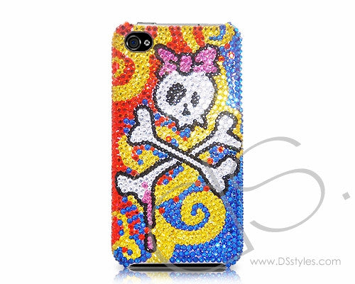 Cute Skull Bling Crystal iPhone 7 Plus Cases