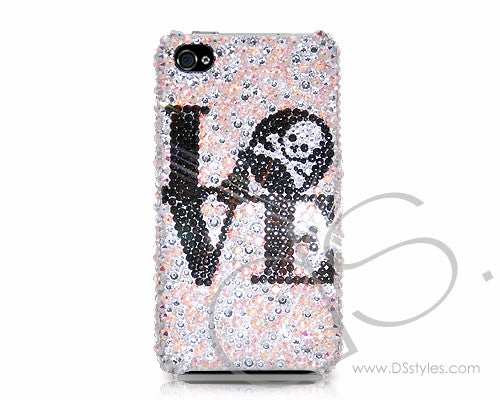 Love Skull Bling Crystal iPhone 6 Cases