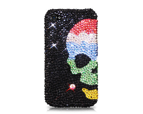 Skull Sky Bling Crystal Galaxy S7 Phone Cases