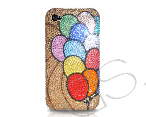 Balloon Bling Crystal iPhone 7 Cases