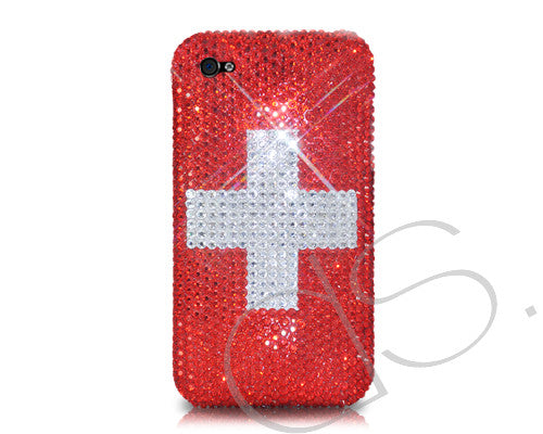 National Series Bling Crystal iPhone 6 Cases - Switzerland