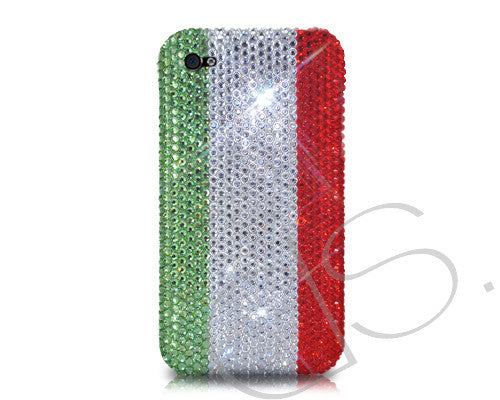 National Series Bling Crystal iPhone 6 Cases - Italy