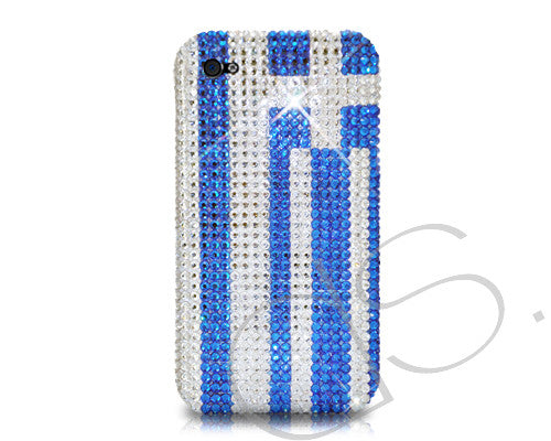 National Series Bling Crystal iPhone 6 Cases - Greece