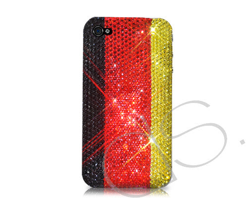 National Series Bling Crystal iPhone 6 Cases - Germany