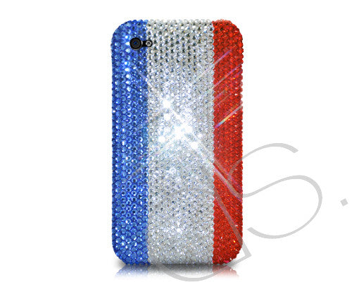 National Series Bling Crystal iPhone 6 Cases - France