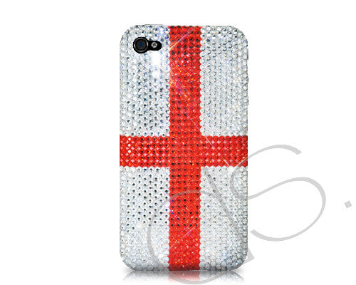 National Series Bling Crystal iPhone 6 Cases - England