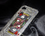 Poker Heart King Bling Crystal iPhone 6 Cases