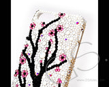 Plum Flower Bling Crystal iPhone 6 Cases