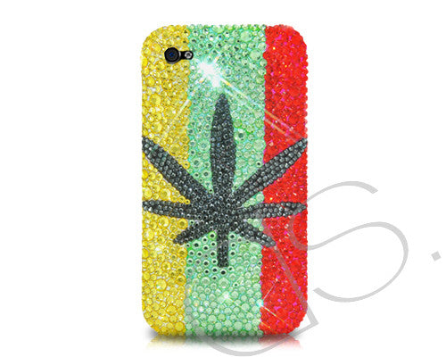 Leaf Bling Crystal iPhone 6S Plus Cases