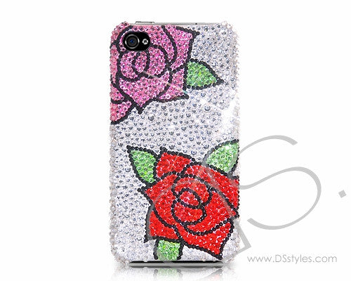 Peony Bling Crystal iPhone 6 Cases