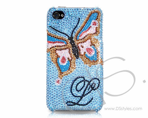 Butterfly Personalized Bling Crystal Phone Cases