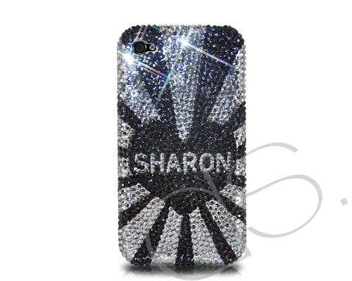 Initials Series Personalized Bling Crystal iPhone 6S Plus Cases - Sharon