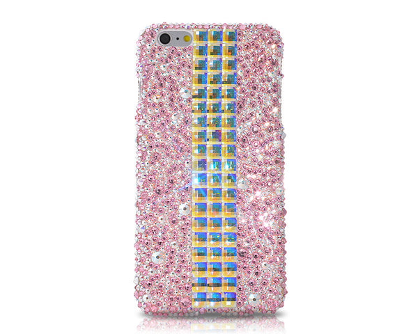 Cubical Pink Lady Bling Crystal iPhone 7 Plus Cases