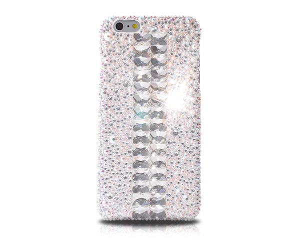 Cubical Silver Bling Swarovski Crystal iPhone 7 Plus Cases