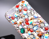 Casta Bling Swarovski Crystal iPhone 7 Cases - Silver
