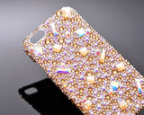 Diamond Scattered Bling Crystal iPhone 7 Plus Cases - Yellow