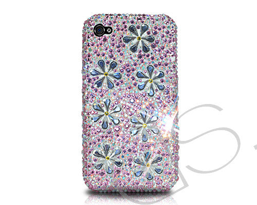 Petal Drops Bling Crystal iPhone 6 Cases - Pink