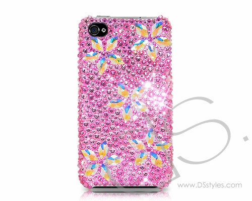 Sparkling Flower Bling Crystal Galaxy S7 Phone Cases