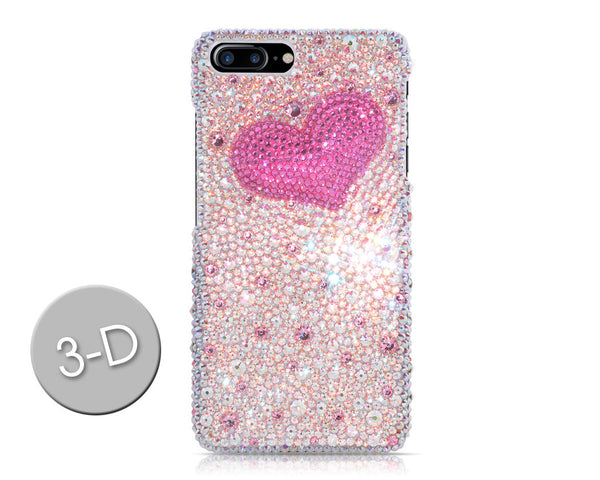 Fancy Love Swarovski Crystal iPhone 7 Plus Cases - Silver