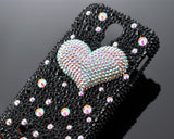 Fancy Love Bling Crystal iPhone 7 Plus Cases - Black