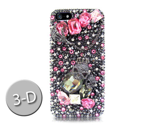 Crown Skull 3D Bling Crystal iPhone 7 Plus Cases