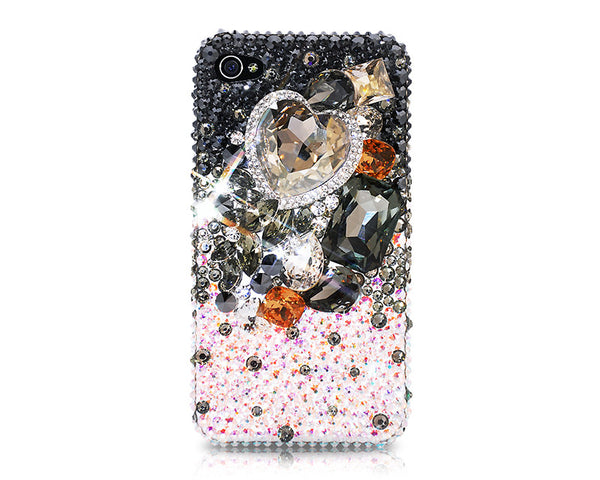 Sweet Love 3D Bling Crystal Galaxy S7 Phone Cases