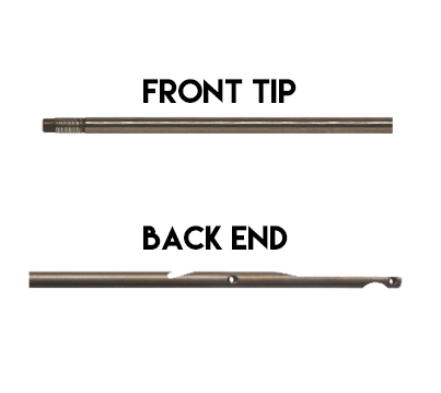 Screwed Tip / Trad Notch Shaft