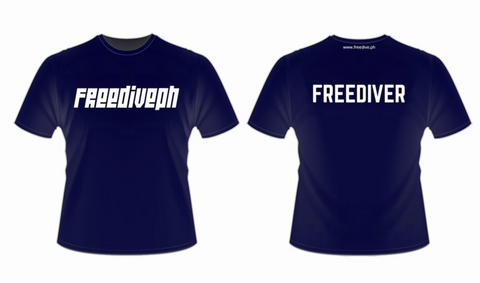 FREEDIVER Dryfit Shirt Navy Blue