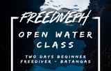 Freediving Fundamentals for Beginners/Non-swimmers (2 days - Open Water)