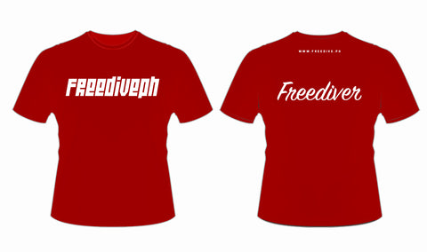 FREEDIVER Dryfit Shirt RED
