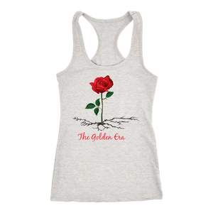 Gray The Rose That Grew From Concrete Women's Tank