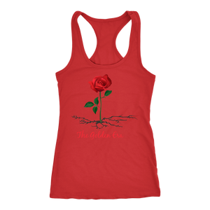 Red The Rose That Grew From Concrete Women's Tank
