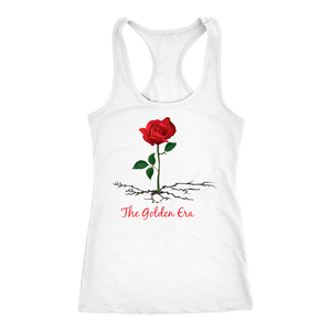 White The Rose That Grew From Concrete Women's Tank