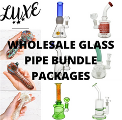 Wholesale glass pipe bundle packages