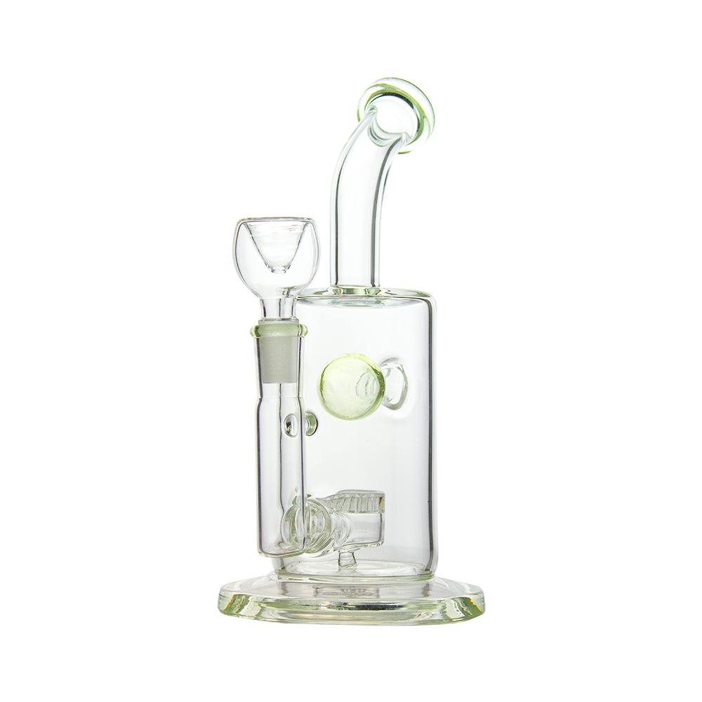 "11"" Thick Durable Key Lime Percolator and dab rig Water pipe"