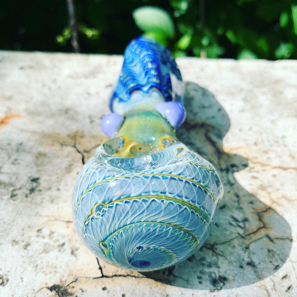 4.5 Inch Medium Size Glass Pipe