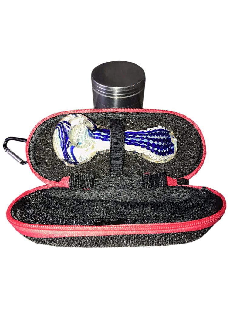 Spoon, Grinder, Case Bundle