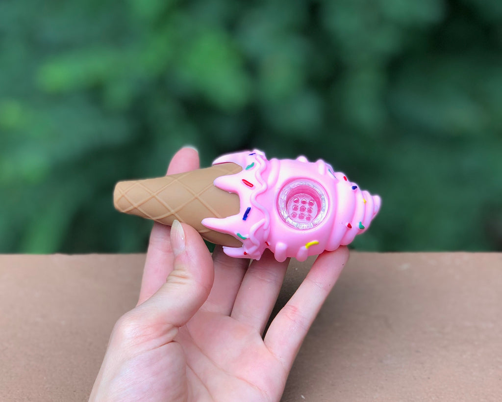 Ice cream Silicone Pipe