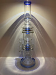 "20"" MASSIVE Double Chambered Bong with Jelly Fish Percolator"