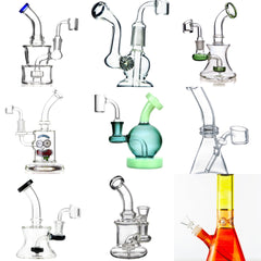 "Wholesale Dab Rigs <br> 6-10"" Variety <br> (12-50 units) <br> $960-$4000 MSRP Value"