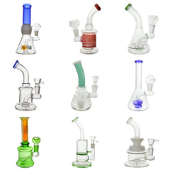 "Wholesale Bongs <br> 6-10"" Variety <br> (25-50 units) <br> $1600-$3500 MSRP Value"