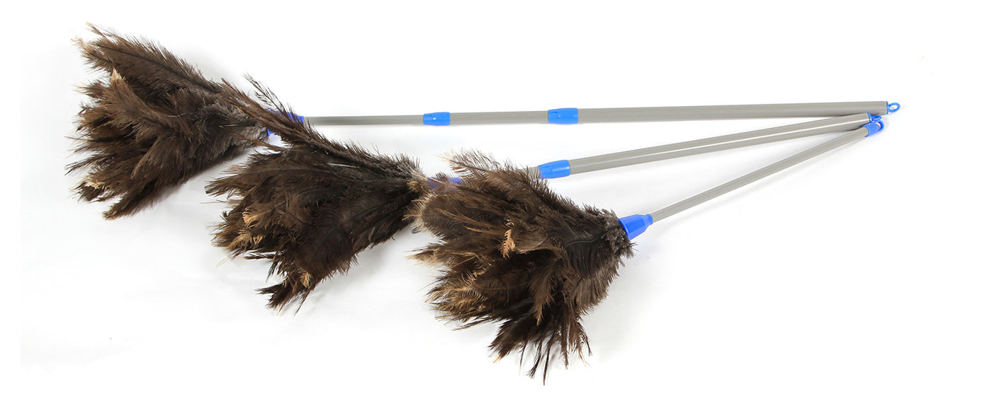 Telescopic Ostrich Feather Dusters