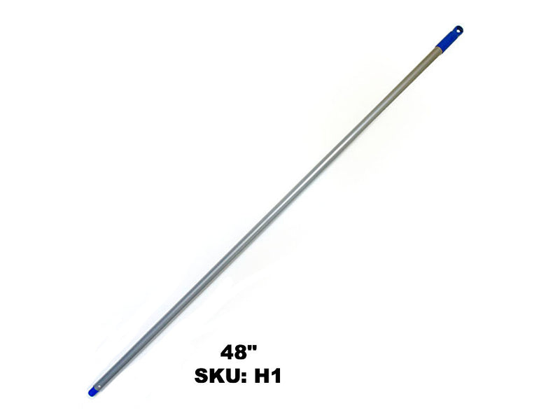 Metal Handle pole for duster or mop 48""