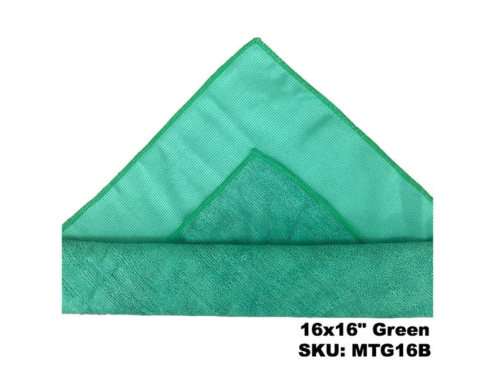 Microfiber Terry Glass Cloth (Pack Of 20)