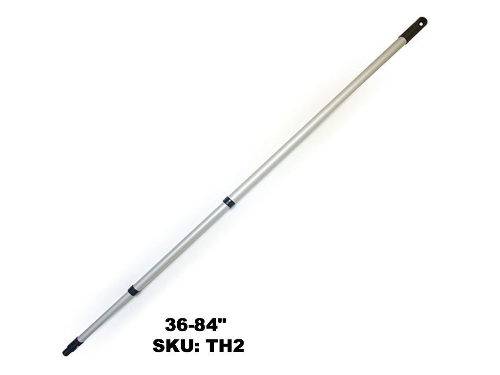 Double Telescopic Aluminum Handle - Rainbow Dusters