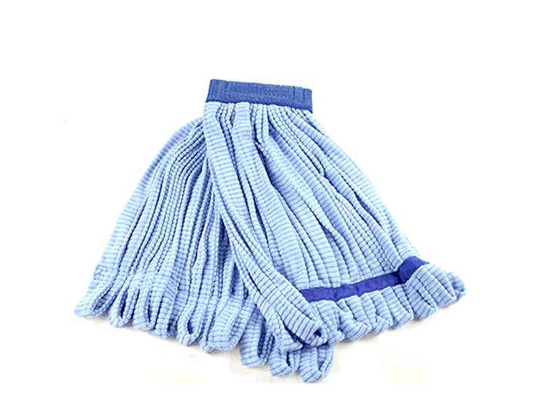 Microfiber Blue Tube Mop Head Blue- 11 oz, 14 oz, 18 oz, 21 ounce