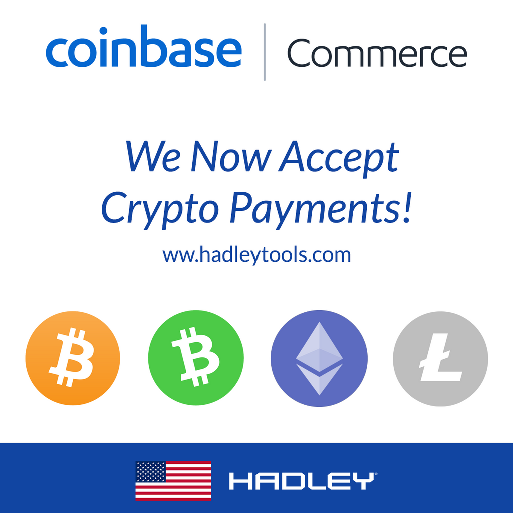 We Now Accept Crypto Payments! - Coinbase Commerce