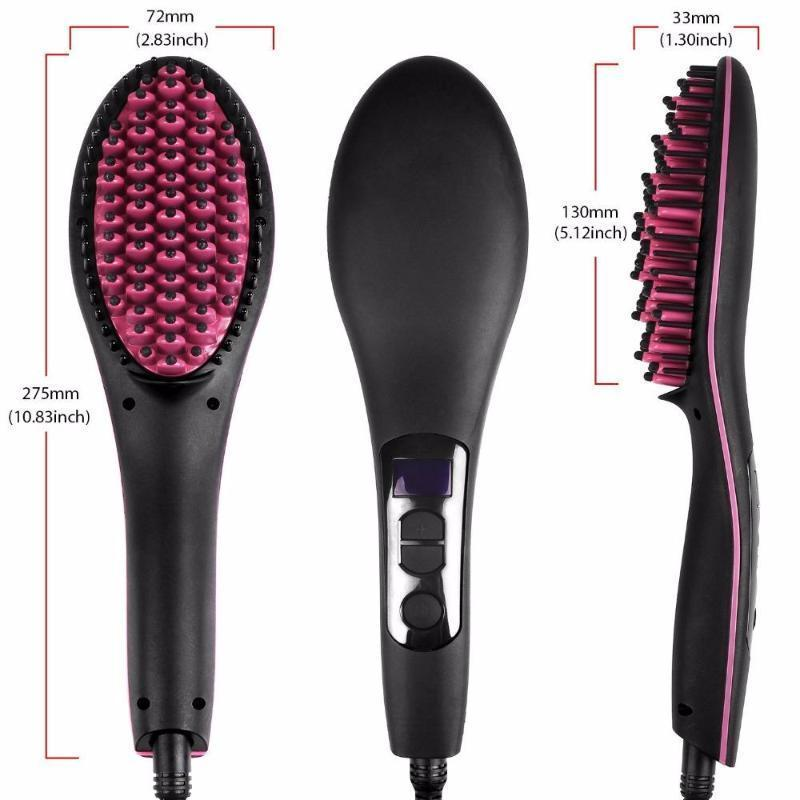 Newest Hair Straightener Comb Electric Brush - Living Chic