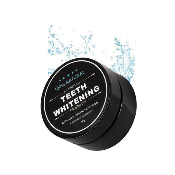 Bamboo Charcoal Teeth Whitening Powder - Living Chic