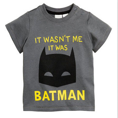 Batman Tshirt for Kids